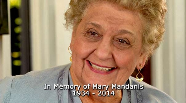 In Memory of Mary Mandanis 1934 - 2014